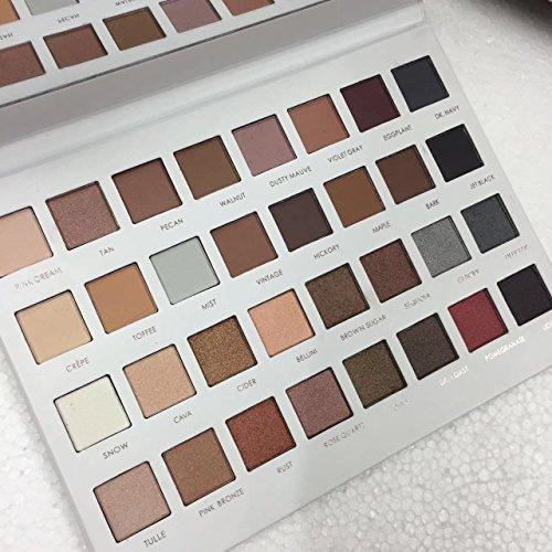 ICYCHEER 32 Couleurs Palette de Fard à Paupière Professionnelle Matte Brillant Durable Imperméable Cosmétique Outil de Maquillage