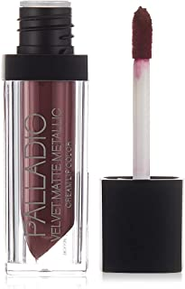 Palladio Velvet Matte Metallic Cream Lip Color - Lavish