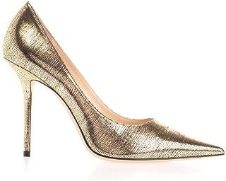 JIMMY CHOO Luxury Fashion Womens LOVE100MZTGOLD Gold Pumps | Fall Winter 19