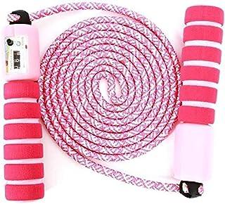 GUBOOM Hopprep barn, hopprep med räknare och bekväma handtag, Speed Rope Skipping Rope för fitness träning och boxning, po...