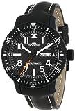 Fortis 647.28.71 L.01 B-42 Marinemaster - Reloj automático de Piel con Fecha, Color Negro
