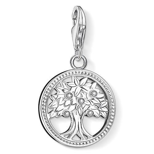 Thomas Sabo Damen-Charm-Anhänger Lebensbaum Charm Club 925 Sterling Silber 1303-051-14