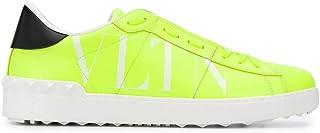 Luxury Fashion | Valentino Garavani Men TY0S0830HWG33M Yellow Leather Sneakers | Spring-summer 20