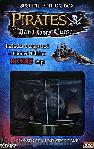 WizKids Constructible Strategy Game Pirates of Davy Jones' Curse Special Edition Box