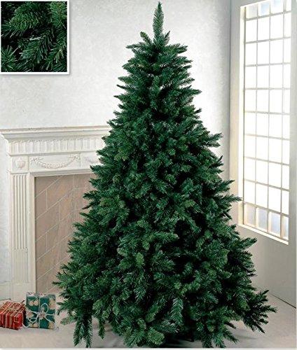 Rotex Albero di Natale Super Folto Artificiale Verde CM 300 Realistico MT 3,0