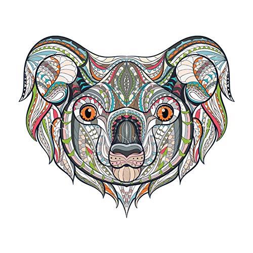Xinchangda Lindo Juguete De Rompecabezas con Adhesivo De Animal, Adhesivo De Koala Extraíble con Formas Coloridas Y Únicas, Regalos Ideales para Niños, Regalos Hechos A Mano