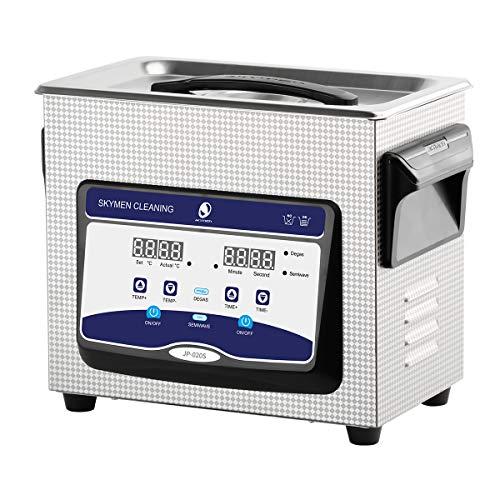 VEVOR JPS-20A Ultraschallreiniger 3L Reiniger Ultraschall Ultrasonic Cleaner Ultraschallreinigungsger/ät Edelstahl mit Digitaler Anzeige f/ür Schmuck Brillen und Z/ähne
