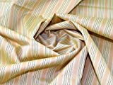 Lady McElroy Baumwollstoff für Shirts, Zitronengelb und