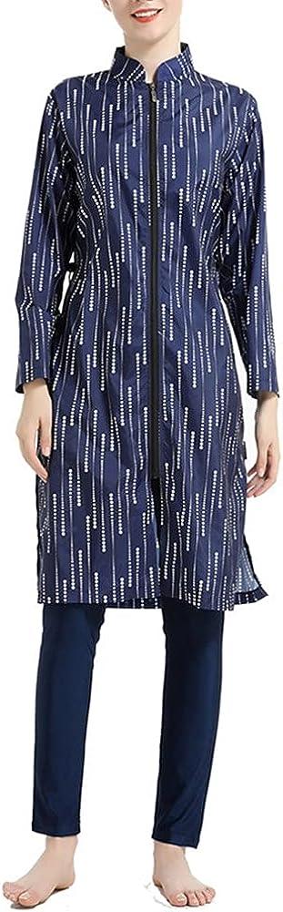 YouNaiJia Women Modest Muslim Swimsuit Swimwear Outlet SALE Is shopping Full Coverage