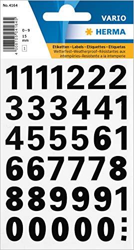 『ヘルマラベル #4164(防水シール)【数字】 304164』の1枚目の画像