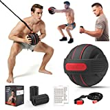 TITISKIN All-in ONE Home Gym Workout Equipment with Weighted Fitness Ball, Resistance Band...