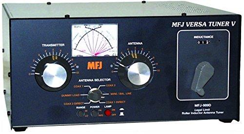 MFJ-989D MFJ Enterprises Original 1.8-30 MHz Antenna Tuner Including Mars/WARC Bands, 1500 Watts
