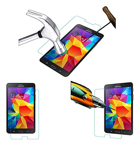 Acm Tempered Glass Screenguard Compatible with Samsung Galaxy Tab 4 Sm-T231 Screen Guard Scratch Protector