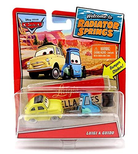 Disney Pixar Cars – Welcome to Radiator Springs Serie – Luigi und Guido