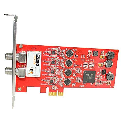 TBS6704 ATSC/Clear QAM Quad Tuner PCIe Card for IPTV Server