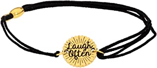 Alex And Ani Kindred Cord Laugh Often Bracelt A17KCLOG