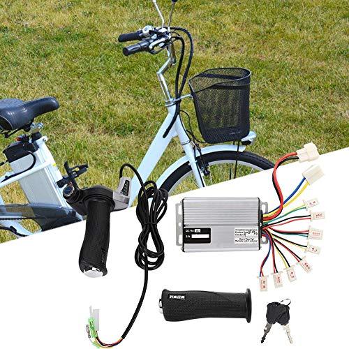 Xinwoer Elektrischer Brushless Speed Motor Controller 1000W mit Batterieanzeige Gasdrehgriff mit Schloss, für EVO Elektrisches Dreirad, Senioren Roller, East China Big Surfing(48V)