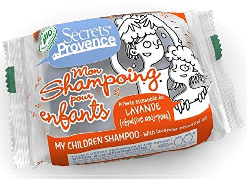 Shampoing Solide Bio Pour Enfants Secrets de Provence Avec Crochet