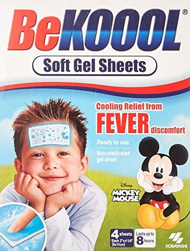 Lençóis de gel macios Be Koool Be Koool para crianças Pacote com 1