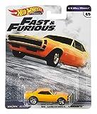 Hot Wheels Fast & Furious Chevrolet Camaro 7 cm 1967 Jaune