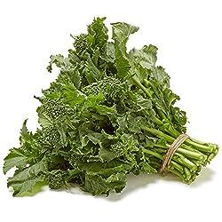 Organic Broccoli Rabe Rapini, One Bunch