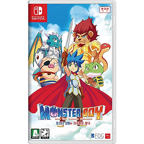 Monster Boy and the Cursed Kingdom Korean Edition [English Supports] - Nintendo Switch