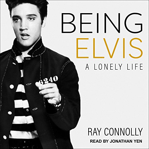 Being Elvis audiobook cover art