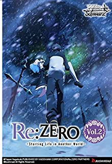 Weiss Schwarz TCG Re:Zero - Starting Life in Another World Vol. 2 Booster Box English