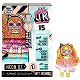 L.O.L. Surprise! JK Neon Q.T. Mini Fashion Doll with 15 Surprises