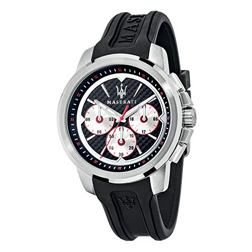 Orologio da uomo, Collezione SFIDA, in acciaio, silicone - R8851123001