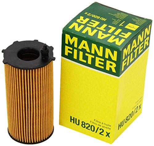 Original MANN-FILTER HU 820/2 x - Ölfilter mit Dichtung/ Dichtungssatz - für PKW