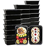 50 Pack Meal Prep Containers, Disposable Lunch Box,...