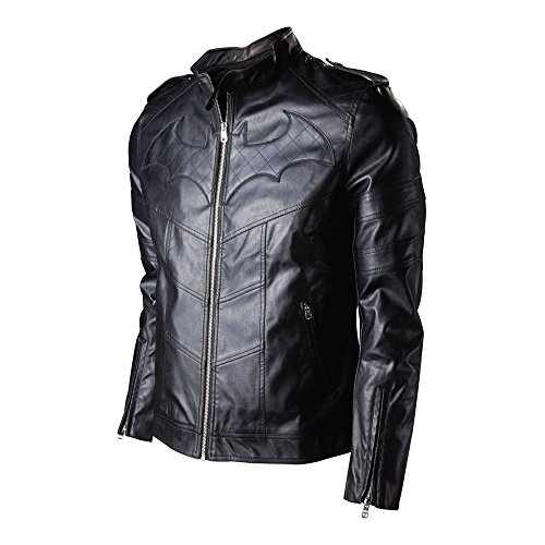 Batman - Blouson Imitation Cuir Logo Dark Knight (S)