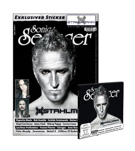 Sonic Seducer 05/2013: + CD + exkl. Stahlmann-Sticker