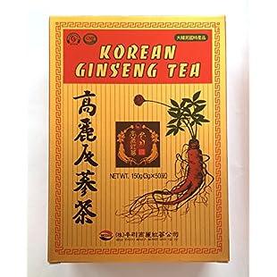Customer reviews Korean Ginseng Tea 3g x 50 Bags Energy Drink Instant Tea:Eventmanager