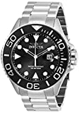 Invicta Men's Pro Diver Stainless Steel Quartz Diving Watch with Stainless-Steel Strap, Silver, 24 (Model: 28765)