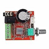 Mini 12V PAM8610 2 * 10W Digital Audio HiFi Amplificador estéreo de Dos Canales Junta D Módulo de Clase