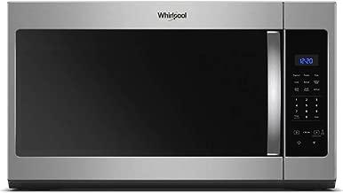 whirlpool microwave over range stainless steel