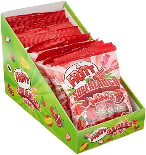 Fritt Kaustreifen Regalkarton Superfrucht Goji & Granatapfel, 9er Pack (9 x 140 g)