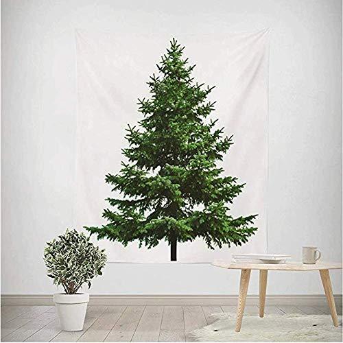 LinkLvoe Weihnachtsbaum Tapestry, Christmas Tree Party Gefälligkeiten Dekoration Wandbehang Tapisserie für Wohnzimmer Schlafzimmer Wohnheim Dekor Strand Laken Tischdecke Strandtuch