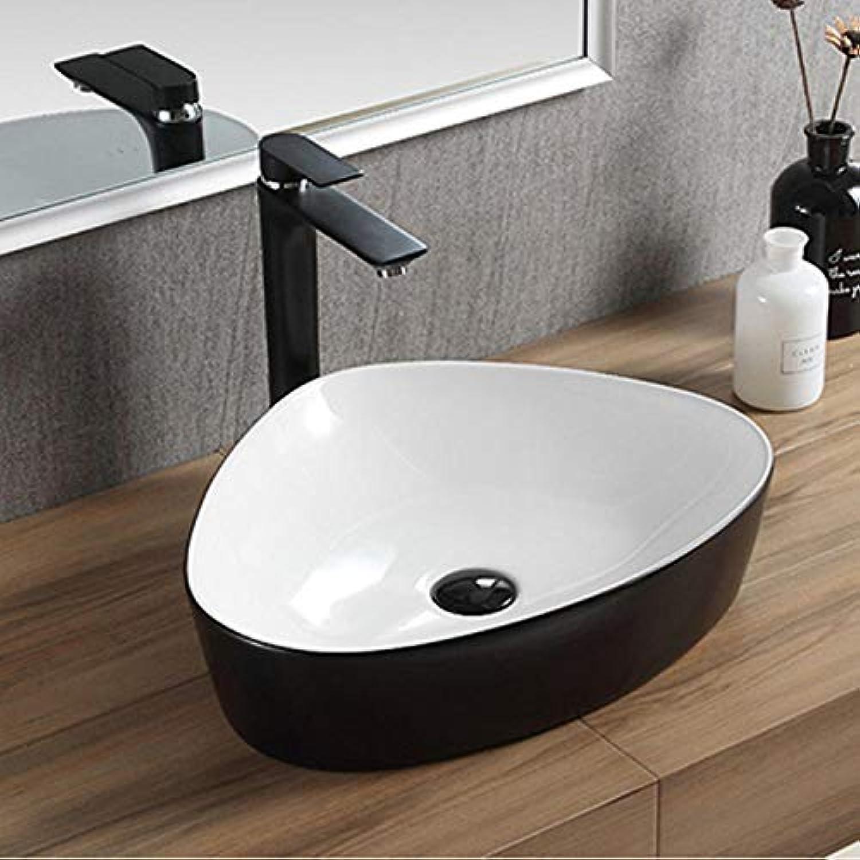 Northerncold Bad waschbecken, Bad waschbecken Keramik waschbecken, Home Art über arbeitsplatte waschbecken, Hotel waschbecken @ 50  40  12, benchboard