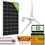 ECO-WORTHY Sistema de Aerogeneradores Solare 400W 500W 600W 12V (500W...
