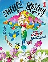 Hellò Spring Coloring Book 1 - The 4 seasons: Il paesaggio imbiancato, il freddo pungente, i bambini che giocano a palle di neve: la stagione invernale crea scenari unici da ammirare e colorare.