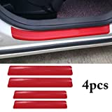 Fusion Graphix 4PCS Car Sticker Universal Anti-Scratch Door Sill Car Decal Car Sticker