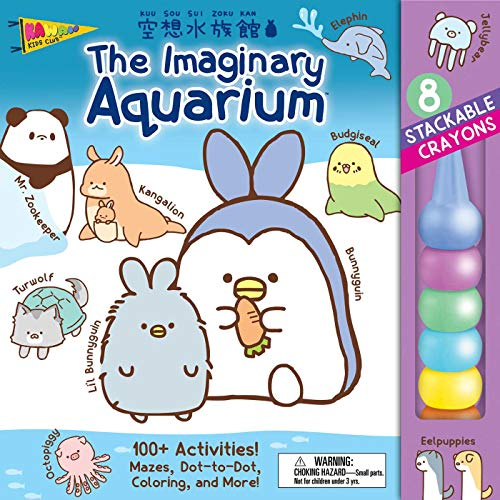 The Imaginary Aquarium Stackable Crayon Activity Book