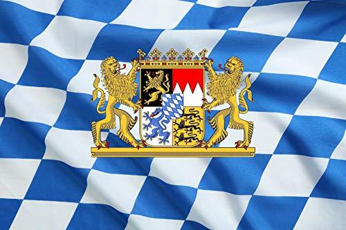 GROSSE Bayern Fahne / Bayrische Flagge / Bayernflagge / Bayernfahne