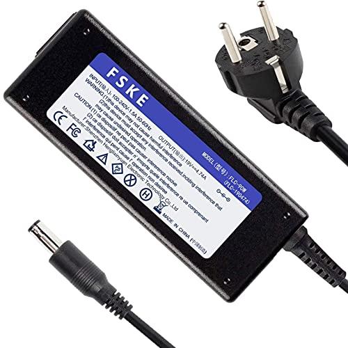 FSKE 90W 19V 4.74A Alimentatore Caricabatterie computer portatile Caricatore Power Supply Adattatore per Samsung NP300E5A NP350V5C R39 R540 R580 R530 R510 R522 R560 RV520 RV510 Notebook,EUR,5.5*3.0mm