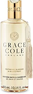 Gel de baño y ducha de 300 ml de Grace Cole - Nectarine Blossom & Grapefruit