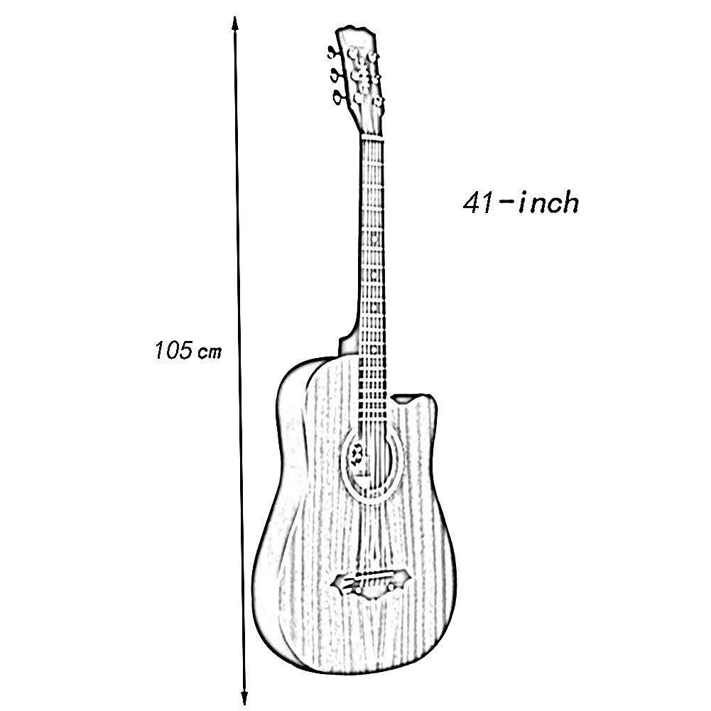 Guitarra Acústica Principiante Guitarra De Viaje Fingerstyle ...
