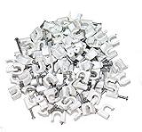AERZETIX: 100 x Grapas para cable 6mm C1757